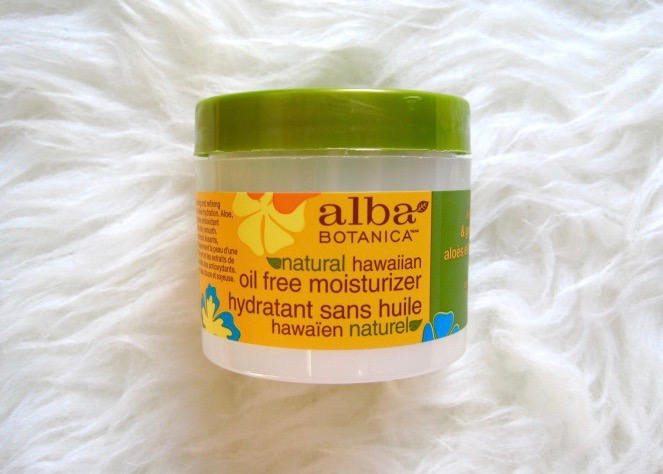 alba botanica natural hawaiian oil free moisturizer reviews